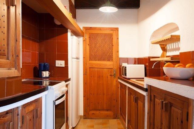 Appartement Barques - keuken