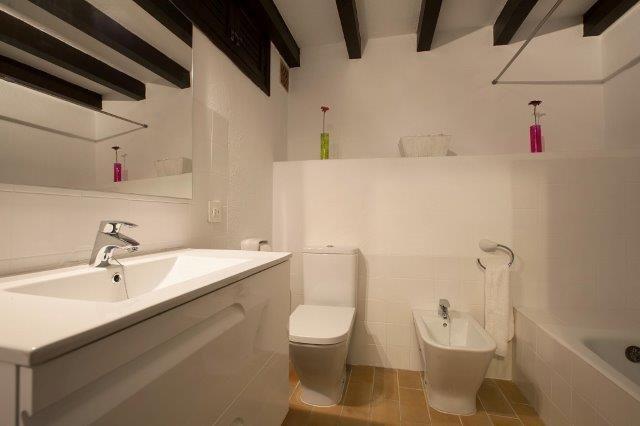 Appartement Barques - badkamer