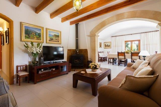 Villa Aina Francisca - woonkamer