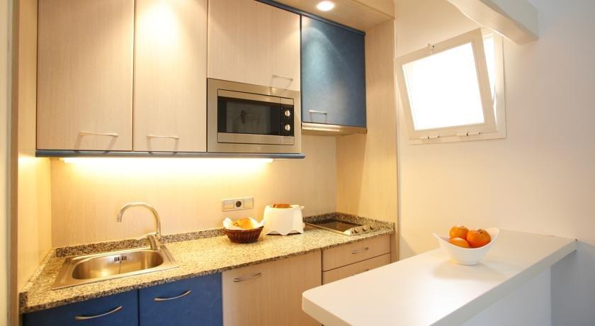 Appartement Bahia Camp - keuken