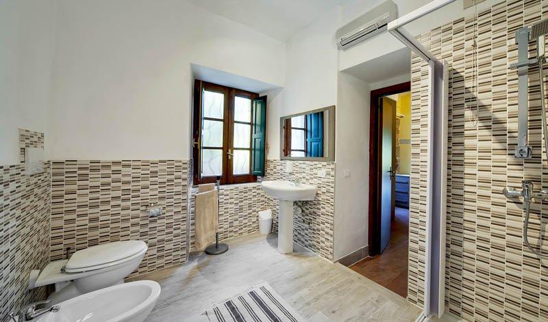 Hotel Casale Romano - badkamer