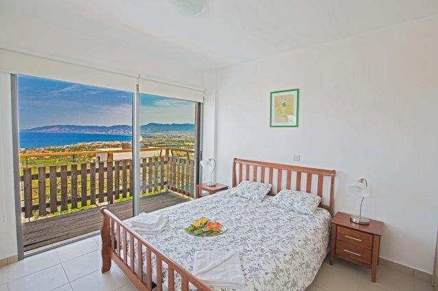 Villa Latchi - slaapkamer