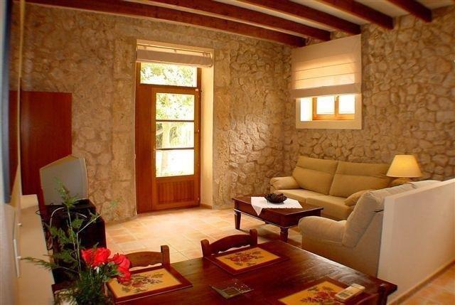 Appartementen Alfabia Nou - woonkamer
