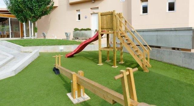Appartementen Dunes Platja - speeltuin