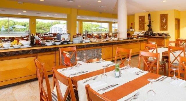 Appartementen Dunes Platja - restaurant