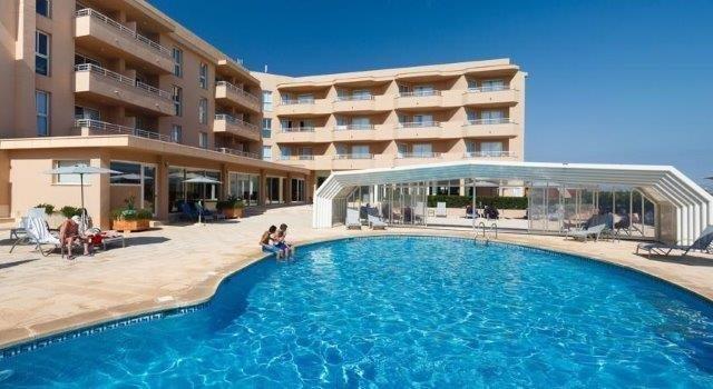Appartementen Dunes Platja - zwembad
