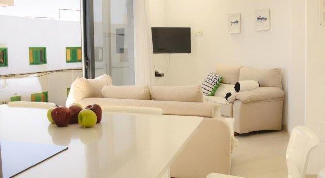 Appartementen Anclada - woonkamer eerste etage