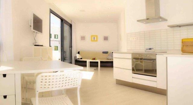 Appartementen Anclada - keuken begane grond