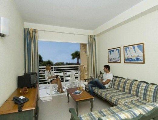 Appartementen Maristany - woonkamer