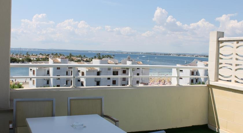 Appartementen Maristany - uitzicht