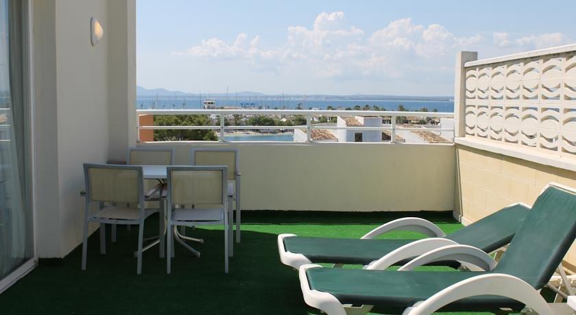 Appartementen Maristany - balkon