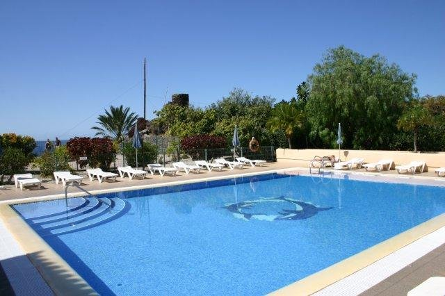 Bijzondere accommodaties Appartementen Baia del Secreto in Valle Gran Rey (La Gomera, Spanje)
