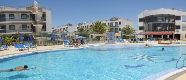 Appartementen Rubimar - zwembad