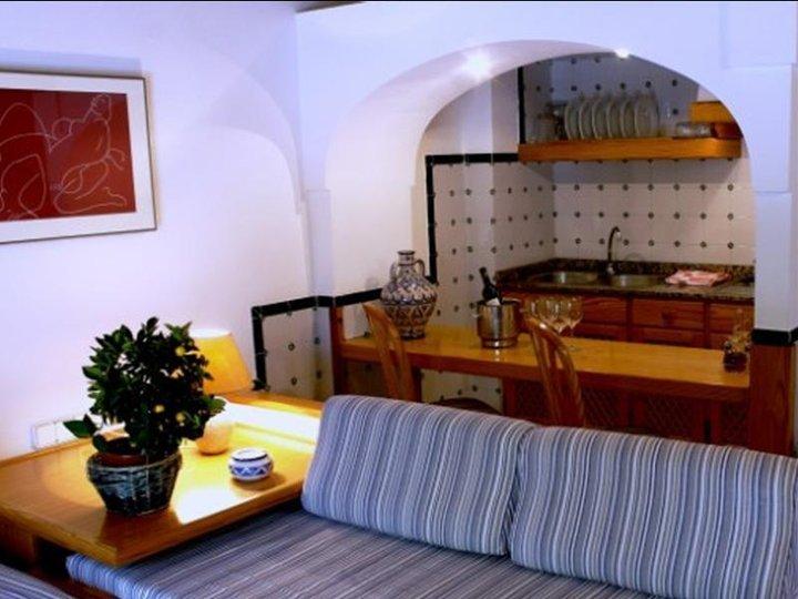 Appartementen Es Baulo Petit - woonkamer