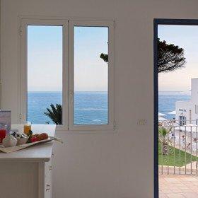 Hotel Scala dei Turchi - uitzicht