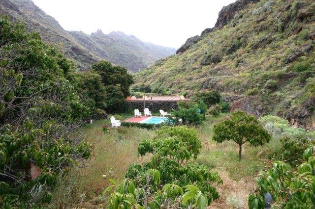 Casita Dos Barrancos - uitzicht