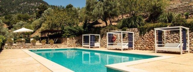 Bijzondere accommodaties Appartementen Alfabia Nou in Bunyola (Mallorca, Spanje)