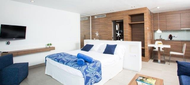 Appartementen Bahia Camp - slaapkamer