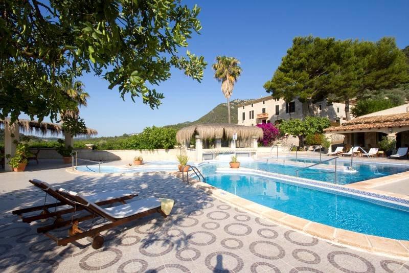 Bijzondere accommodaties Hotel Monnaber Nou in Campanet (Mallorca, Spanje)