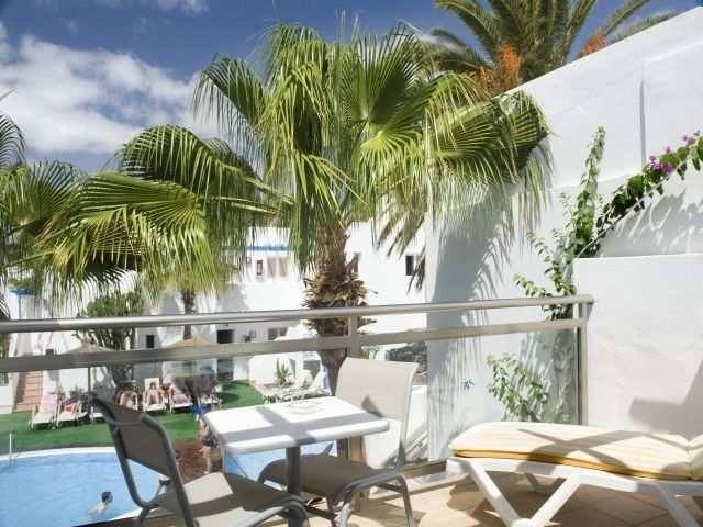 Appartementen Tropical - balkon