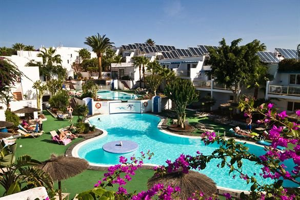 Bijzondere accommodaties Appartementen Tropical in Puerto del Carmen (Lanzarote, Spanje)