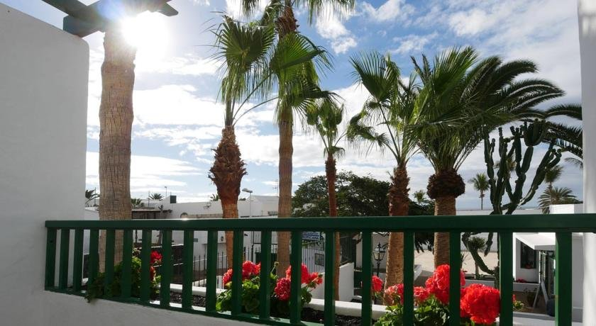 Appartementen Tropical - balkon