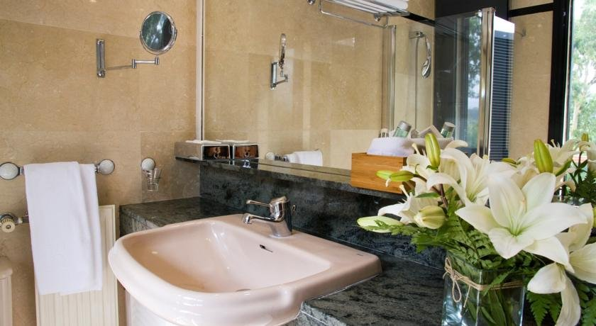 Hotel Escuela - badkamer