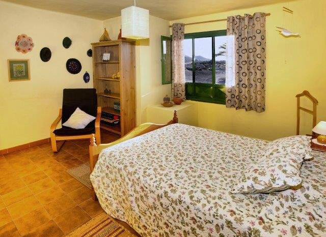Eco-casita Alcairon - Slaapkamer
