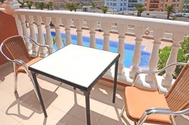 Appartementen Callaomar - terras