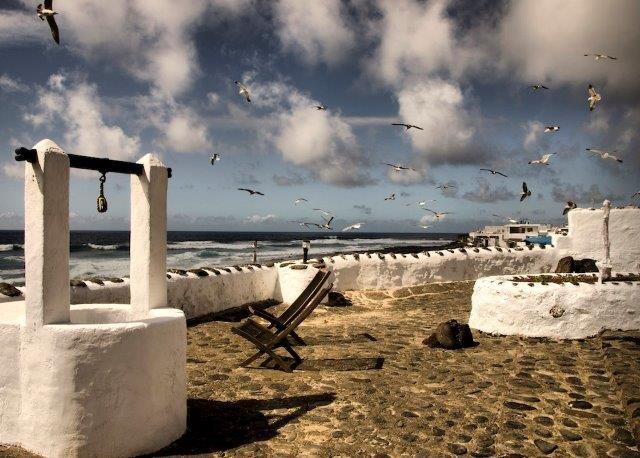 Casita Caleton del Golfo - zeezicht