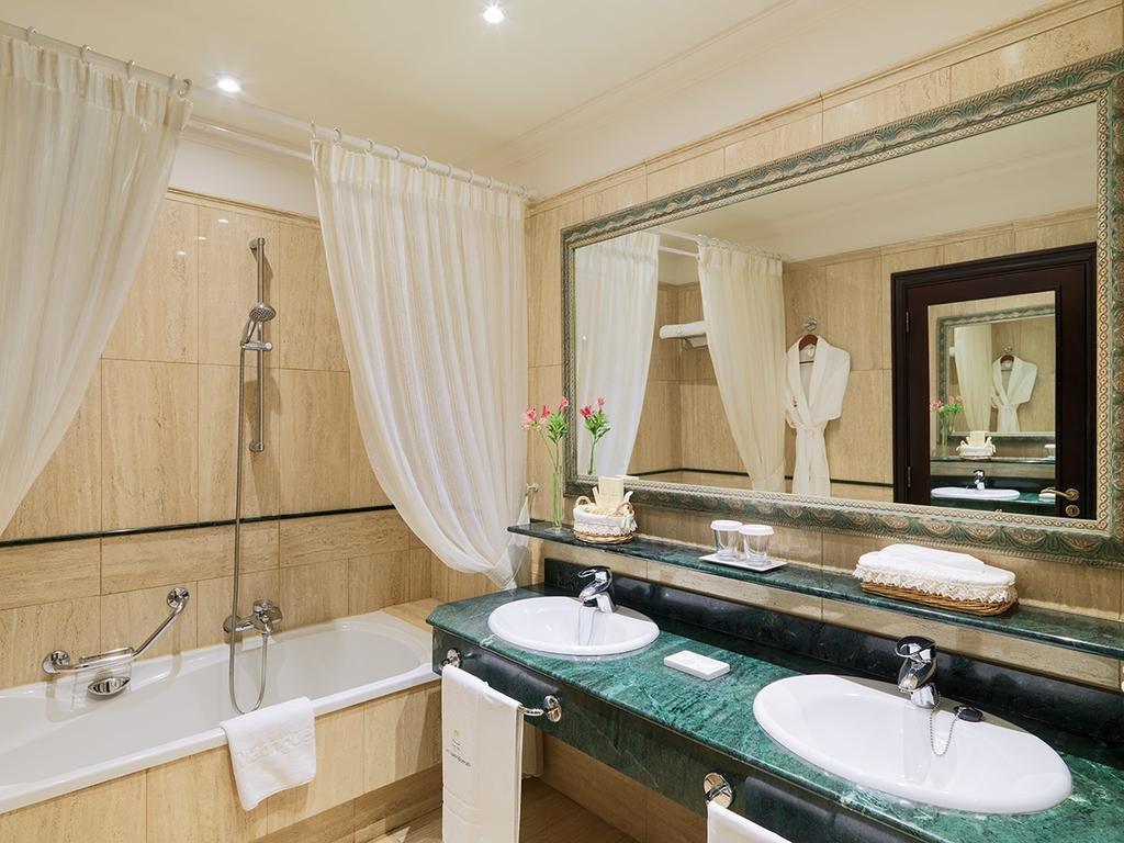 Hotel Las Madrigueras - badkamer