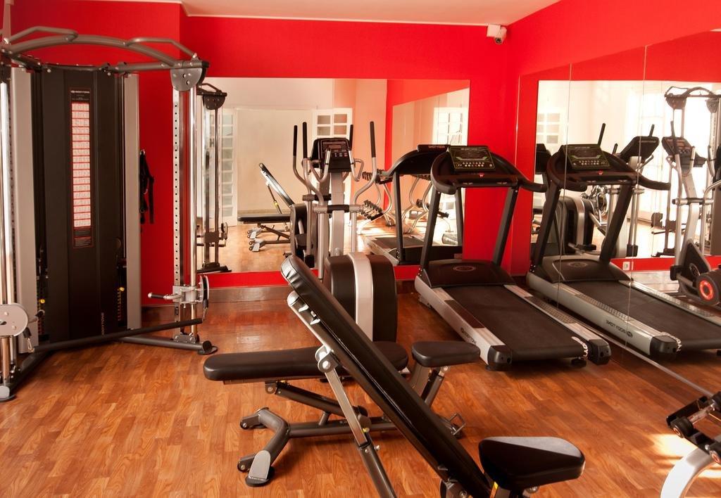 Appartementen Panorama - fitnessruimte