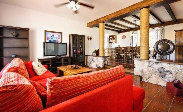 Villa Los Loros - woonkamer