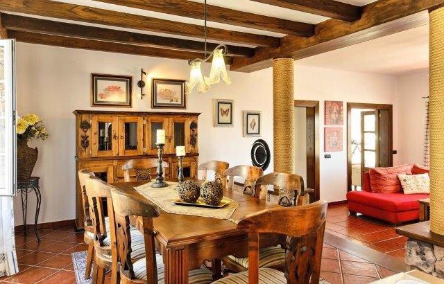 Villa Los Loros - eetkamer
