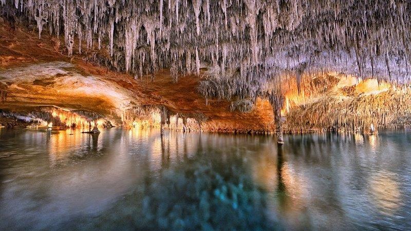 Fly-drive Porto Cristo - Grotten