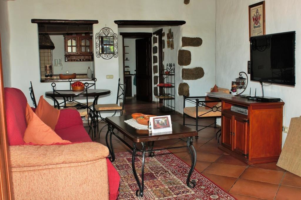 Villa Caserio de Guime - woonkamer T2
