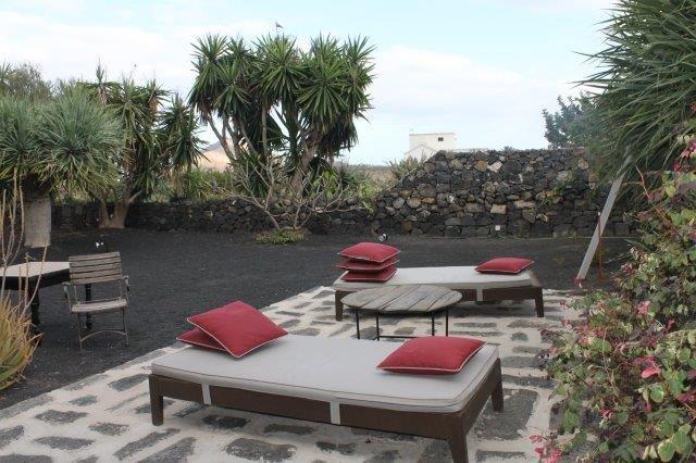 Hotel Mozaga - tuin