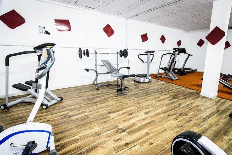 Appartementen Sol Mogan - fitnessruimte