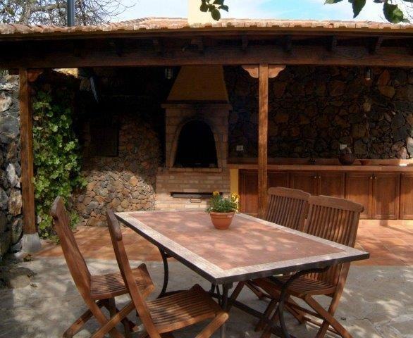 Finca La Majadera - buitenkeuken