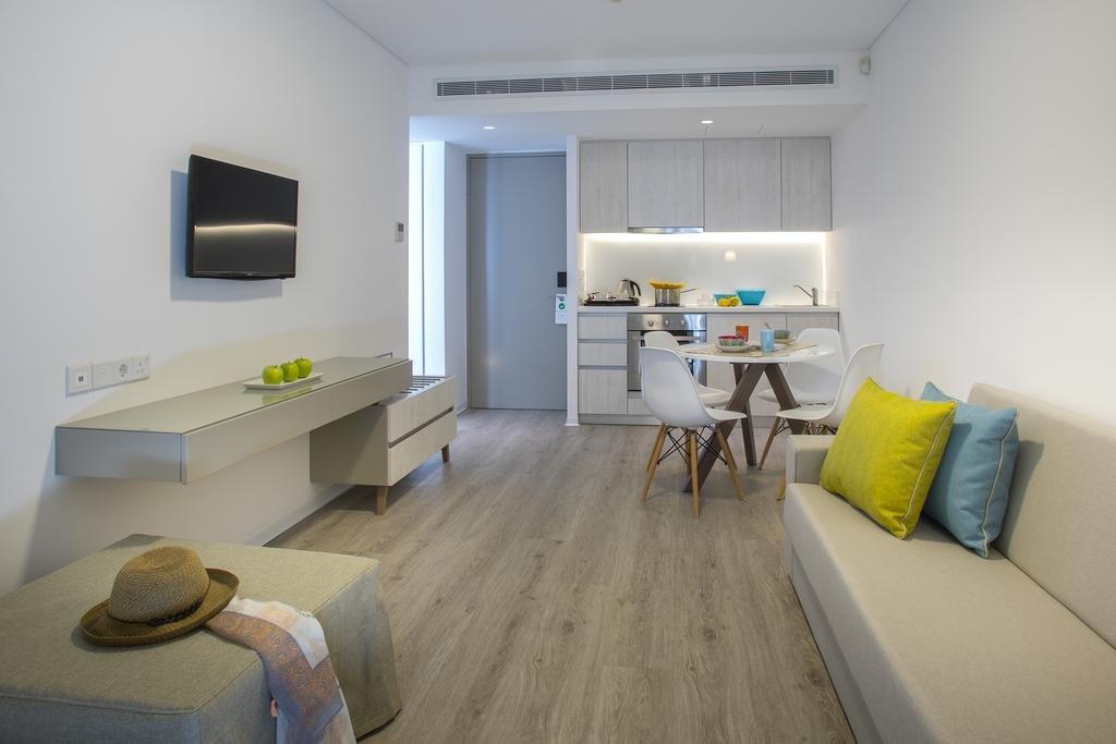 Appartementen Anemi - woonkamer