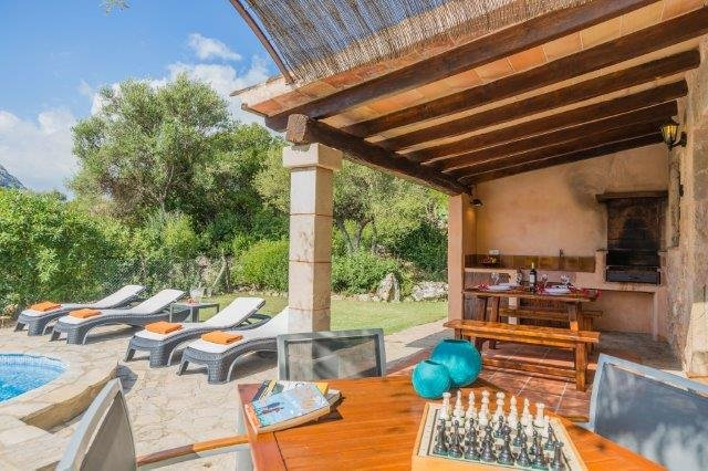 Villa Can Just - terras