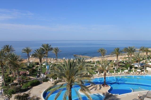 Hotel Athena Beach - uitzicht