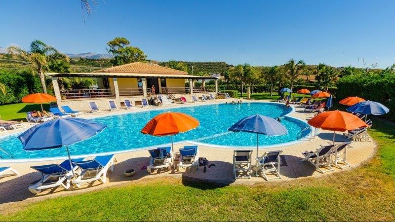 Appartementen Hydria - zwembad