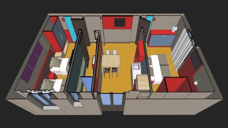Appartementen Hydria - plattegrond