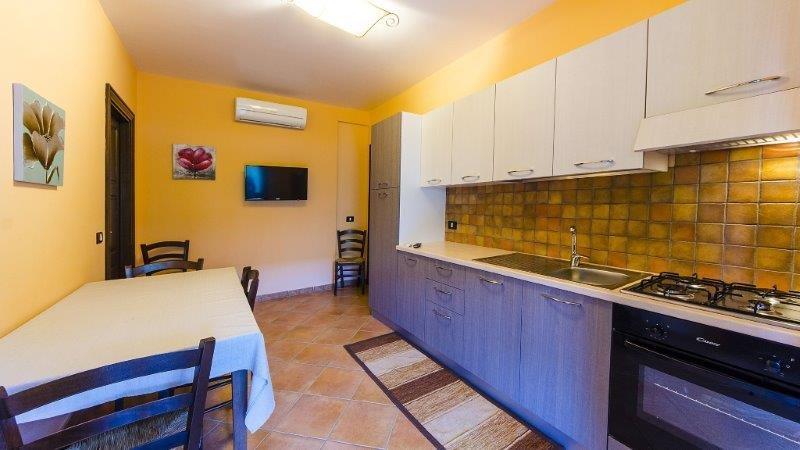 Appartementen Hydria - keuken