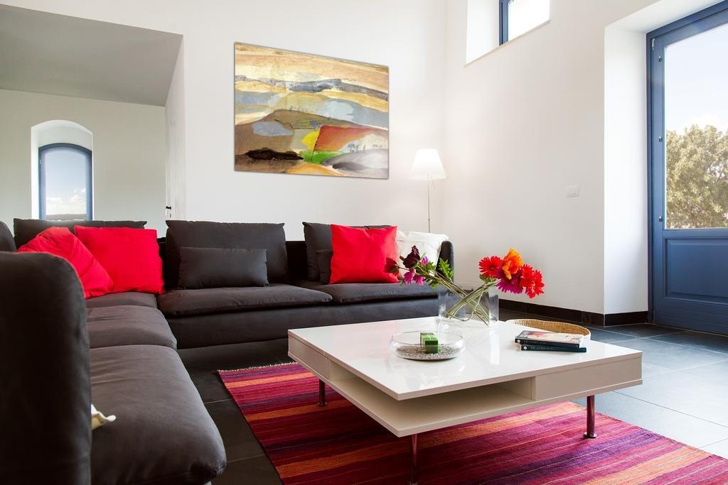 Appartementen Casal di Noto - woongedeelte