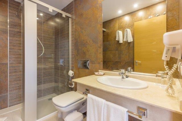 Appartementen Diamond - badkamer