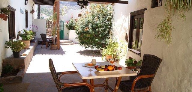 Appartementen El Olivar - terras
