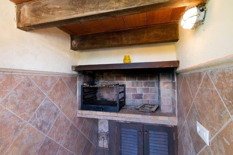 Villa Son March - barbecue