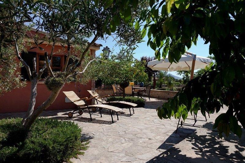 Villa Can Cremat - terras